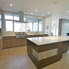 Contemporary Kitchen by Alloy Homes Incorporated