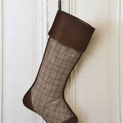 PRODUCTS   Christmas Stockings and Stocking Holders - Balsam Hill Glen Plaid Stocking
