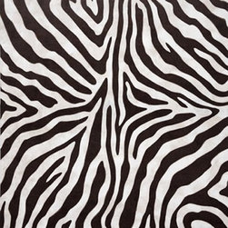 Zebra Indoor / Outdoor Rug - Available in a variety of colors. Both standard and custom sizes available. This rug is made using a patented needlepunched design process. Made using 100% acrylic fibers for indoor / outdoor use. Antimicrobial. Handmade. Machine processed. As a testament to their durability, these rugs have been used in commercial spaces.