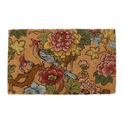 Ingrid Palampore Door Mat - Do you have a floral sofa in your living room? This would be the perfect welcome to your house and would definitely set the tone!