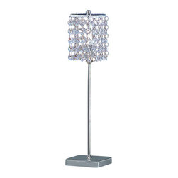 Eglo - Eglo 85333 Pyton Single-Bulb Table Lamp - Pyton Single-Bulb Table LampExquisitely adorned with genuine lead crystal, the Pyton series exudes a distinct flair and eye-catching luxury that is unrivalled. These intricately elegant fixtures evoke a rich and distinctive aesthetic to enhance any home.Product Features