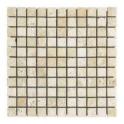 STONE TILE US - Stonetileus 20 pieces (20 Sq.ft) of Mosaic White 1x1 Tumbled - STONE TILE US - Mosaic Tile - White 1x1 Tumbled Specifications: Coverage: 1 Sq.ft size: 1x1 - 1 Sq.ft/Sheet Piece per Sheet : 121 pc(s) Tile size: 1x1 Sheet mount:Meshed backwhite - light brown - dark brown - light gray - low variation, The beauty of this natural stone Tumbled comes with the convenience of high quality and easy installation advantage. This tile has Tumbled surface, and this makes them ideal for floor, walls, kitchen, bathroom, Sheets are curved on all four sides, allowing them to fit together to produce a seamless surface area. Recommended use: Indoor - Outdoor - High traffic - Low traffic - Recommended areas: White 1x1 Tumbled tile ideal for floor, walls, kitchen, bathroom, Free shipping.. Set of 20 pieces, Covers 20 sq.ft.