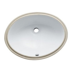 """Kingston Brass - White China Undermount Bathroom Sink with Overflow Hole - Finest china material made undermount sink is perfect way to bring a bright new look to your bathroom.; High chemical and thermal shock resistance; Stain resistant and easy-to-clean; Standard 1-7/8""""-�recessed drain hole; For undercounter installation; Drain not included; Material: Ceramic; Finish: White Finish; Collection: Courtyard"""