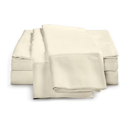 ExceptionalSheets - 1500 Thread Count - Egyptian Cotton Sheet Set by ExceptionalSheets - Our 100% Egyptian Cotton Sheets cannot be beaten when it comes to the price. You will not find better quality at a better price! They're available in multiple size ranges and colors making up almost 200 options! Whether the sheets are a gift for a friend or you are buying for yourself, you know you are getting top-quality luxury with Exceptional Sheets.
