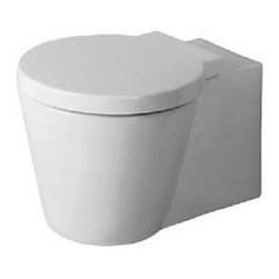 Duravit 02100900001 Starck 1 Wall Mounted Toilet in White -