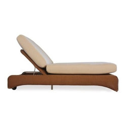 Lloyd Flanders All-Weather Wicker Double Pool Chaise Lounge - Settle down for some relaxation time with the Lloyd Flanders All-Weather Wicker Double Pool Chaise Lounge. Perfect for sharing a poolside relaxation session with someone near and dear, this double chaise lounge is built from high-quality wicker, and it includes premium Comfort Plush cushions for supreme comfort. It adjusts to several different positions. It is resistant to fading, warping, and cracking, so it's sure to last outdoors all year. The resin wicker is easy to clean and available in a wide variety of finish options. Dimensions: 78L x 40W x 29H inches.The Comfort Plush cushions will support you with their internal spring-bond premium core with dense foam and special polyester fiber that ensure total relaxation. Wrapped around this high-quality core is a polypropylene jacket of spun-bond fabric that sandwiches an inner meltblown-fabric layer, making these cushions waterproof. The quality materials and construction also mean that these cushions are inherently mildew- and bacteria-resistant. And to top it off, they come in a wide variety of colors and patterns that you're sure to love.About Lloyd/FlandersCarrying on the traditions of Marshall B. Lloyd, Lloyd/Flanders brings the sophistication of timeless furniture designs to a sophisticated, modern audience. Using modern production processes and materials, these classic styles are faithfully rendered in a way that can be enjoyed by customers anywhere with high-quality construction and reliable, all-weather designs.