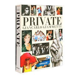 Private: Giancarlo Giammetti - Valentino is a household name is fashion. Someone that may not be in the limelight quite as much, but is just as well known...Valentino's partner, Giancarlo Giammetti. Private: Giancarlo Giammetti is a collection of photographs that highlights behind-the-scenes moments of their life together. This enormous coffee table book chronicles the public and private life that make up their career and relationships. The book includes four sections where Giammetti recounts the early years, those that play the cast of their lives, the steps that make up their successful career and finally the genuine encounters with others that make up his unique lifestyle. This oversized coffee table book makes a statement about Giammetti's life and will certainly make for a great conversation piece in your space.