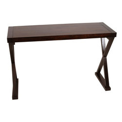 """Arteriors - Arteriors Home - Tahiti Wood Console Table - 2230 - Arteriors Home - Tahiti Wood Console Table - 2230 Features: Tahiti Collection Console TableDark walnut finishMango wood Material Some Assembly Required. Dimensions: 47.5"""" W X 18"""" D X 30"""" H"""