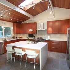 Contemporary Kitchen Cabinets by Arts Custom Woodcrafting Inc.