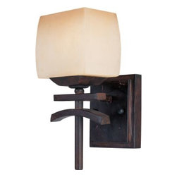 Maxim Lighting - Maxim Lighting 10996WSRC Asiana 1-Light Wall Sconce In Roasted Chestnut - Features