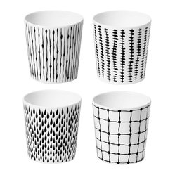 Design House Stockholm Bono Mugs, Set of Four