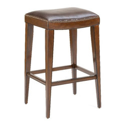 """Hillsdale - Hillsdale Riverton 31"""" Backless Bar Stool in Rustic Cherry - Hillsdale - Bar Stools - 4659830"""