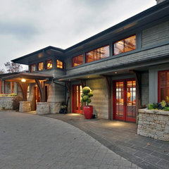 contemporary exterior by Legerton Architecture. P.A.