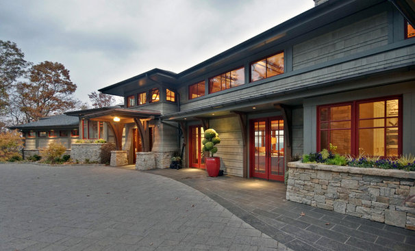 Craftsman Exterior by Legerton Architecture. P.A.