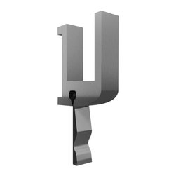 Ghent - Maprail Hook with Clip (0.31 in. W x 2.625 in. H) - Size: 0.31 in. W x 2.625 in. H. Mounts easily to the top of a board or to a wall. 0.25 in. natural cork posting strip. Maximum holding capacity 10 lbs.. 0.75 in. thickness. Warranty: 90 days. Made from 6063-T5 aluminum. Satin finish. Made in USA. No assembly requiredThe perfect tack surface when space is limited. When added to a chalkboard or whiteboard, these display rails provide an organized way to hang flags, teacher aids, or charts with optional accessories. Clip securely onto rail. Accessories provide an organized way to hang flags, maps, charts or teachers' aids.