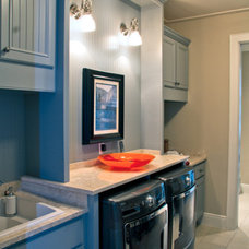 contemporary laundry room by Barn Light Electric Company