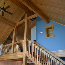Traditional Staircase by Tamlin Homes