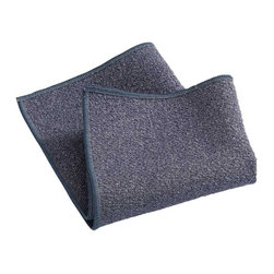 e-cloth - e-cloth Non,Scratch Scou Cloth - Paper towels aren't the only source of disposable waste in your kitchen. Those metal scou pads that you use to tackle tough jobs don't break down in landfills, and precious minerals are used in their construction.