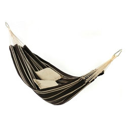 Byer of Maine Barbados Single Hammock - How about a hammock for those who love to nap under the stars while listening to the crackling flames and good conversation? Watch out, you might have to take turns!