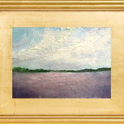 Heather Offord - 2014 Plein Air Impressionism Landscape Original Painting, High Texture, Framed - Before we get into the details I just wanted to say thank you so much for stopping to look at my art!