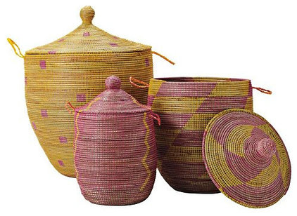 Eclectic Baskets by Serena & Lily