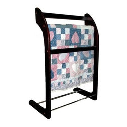 Proman 3-Bar Wooden Towel/Quilt Rack - About Proman ProductsFounded in 2002 in Rockford, Illinois, Proman Products took to their calling to promote and distribute products made in their factory based in Southern China as well as items made by their associated factories. Proman Products is proud of their prompt and effective shipping process to customers anywhere in the continental U.S. Their design team also works directly with their customers to provide custom designed and engineered products to meet all expectations.