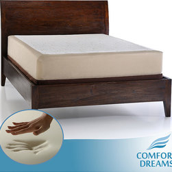 Comfort Dreams - Comfort Dreams Select-A-Firmness 11-inch Queen-size Memory Foam Mattress - Enjoy night after night of restful and refreshing sleep with this 11-inch-thick queen-size memory foam mattress. This mattress is available in your choice of three firmness levels, and it can be used with either a box spring or a platform bed.