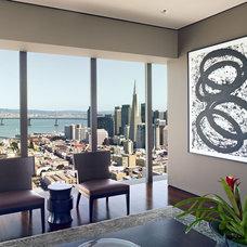 Contemporary Living Room by Zack de Vito Architecture + Construction