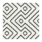 Black & White Optical Diamond Linen Fabric - Super chic black & white diamond print on pure linen. A bold, graphic statement in your modern home.Recover your chair. Upholster a wall. Create a framed piece of art. Sew your own home accent. Whatever your decorating project, Loom's gorgeous, designer fabrics by the yard are up to the challenge!