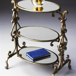 Butler - Tiered Accent Table in Metalworks Finish - Metalwork's finish