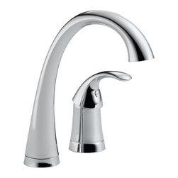 Delta - Pilar Single Handle Bar/Prep Faucet with Diamond Seal Technology in Chrome - Delta 1980-DST Pilar Single Handle Bar/Prep Faucet with Diamond Seal Technology in Chrome.