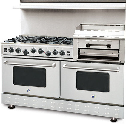 Contemporary Gas Ranges And Electric Ranges by BlueStar