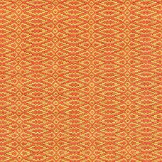 Fair Isle Paprika/Curry Cotton Woven Rug | Dash & Albert Rug Company