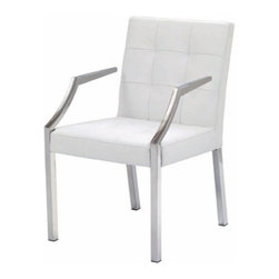 Nuevoliving - Nuevo Living Paris Dining Chair - White - Features: