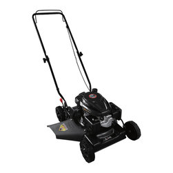 None - Warrior Tools Gas Powered Push Lawn Mower - Featuring steel deck housing,three-position height adjustment and side discharge and mulching,this Warrior Tools push lawn mower will keep your lawn looking great. This manual start mower features a strong modern design.