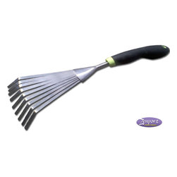 Zenport - Box of 12 Good Grips 220010E Mini Fan Rake - Zenport 220010E Mini Fan Rake, Ergonomic Soft Cushion Grip. Cushioned grip on this well balanced tool makes it appeal to both commercial and home-garden users alike.
