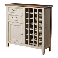 Cottage Wine Cabinet-White - Inspired by the southwest coast of England, where the winding cobbled streets, color-washed cottages, and unspoiled beaches combine with picturesque tranquility. Our Cottage White Wine Cabinet is bench-built and hand finished in sundried ash and contrasted with stucco white, using only reclaimed and CERTIFIED solid wood, resulting in an authentic rustic appearance.