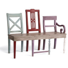 Traditional Dining Benches by Grandin Road
