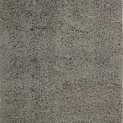 """Nourison - Nourison Zen ZEN01 (Grey) 5'6"""" x 7'5"""" Rug - The shag is back with Zen. This hip, eclectic shag rug looks and feels fabulous. The collection features a luxurious, soft pile and rich, lustrous colors. These super-plush and funky rugs provide a unique decorating option."""