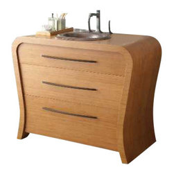 Native Trails - Native Trails Monaco Vanity - *Handcrafted solid bamboo
