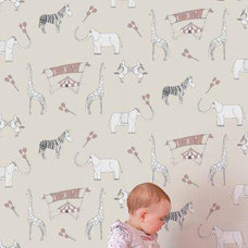 Contemporary Wallpaper by Paper Room