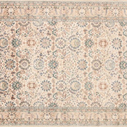 Designer Rug Outlet - Peshawar Oriental Rug Lahore 76 - Beige/Beige - The handcrafted touch of artisan skill creates variations in color, size and Design. If buying two of the same item, slight differences should be expected. Note: Color discrepancies may occur between this product and your computer screen.