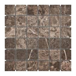 Emperador Cafe Marble Mosaic -