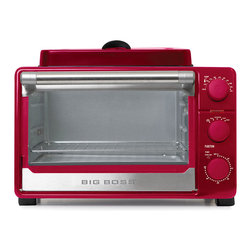 Big Boss - Red Ultimate Kitchen Oven - Incredibly versatile and attractively designed, this oven ...