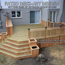 Traditional Porch by Patio Deck-Art