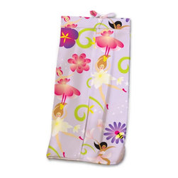 Room Magic - Room Magic Magic Garden Diaper Stacker - RM17-MG - Shop for Diaper Stackers from Hayneedle.com! Your little buttercup will love the Room Magic Magic Garden Diaper Stacker. Made with a designer print this adorable diaper stacker pictures a colorful array of fairies flowers bees and butterflies. Completely made with cotton this quality stacker keeps diapers right next to where you need them most in the nursery without taking up extra changing table space.About Room MagicRoom Magic doesn't just make children's furniture; they design furniture specifically for children using the magic of childhood imagination and creativity as a guiding principle. Beginning in 1999 with graphic designer Karen Andrea's attempt to create a truly lively and unique room for her five-year-old daughter Sarah the company has maintained a focus on using bright colors and unique themes that steer clear of cliched motifs. Bright and bold playful cut outs decorate the quality hardwood pieces finished with beautiful stains. With collections that are geared both to boys and to girls Room Magic provides the furniture accessories and bedding you need to bring the magical fun of childhood to your kids' rooms.