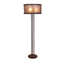Kincaid Floor Lamp - Rustic Plain