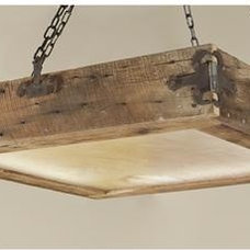 Rustic Flush-mount Ceiling Lighting by AES Mobile Studios