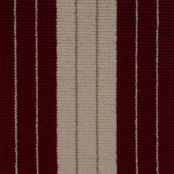 Showroom Products - Lauren is made of 100% wool.  This stripe carpet can be used for wall to wall installation, stair runners or area rugs of any size.  It is offered in 12 designer colors including navy, green, cranberry, gray, taupe, tan, brown, mocha, mushroom and more.  Purchase at Hemphill's Rugs & Carpets Orange County, CA www.RugsAndCarpets.com - Our showroom is recognized by the Wools of New Zealand as a Premier Partner Showroom of Excellence.  We offer over 70 name brands and boutique hard to find items.