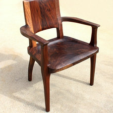 Contemporary Dining Chairs by Aaron Smith Woodworking